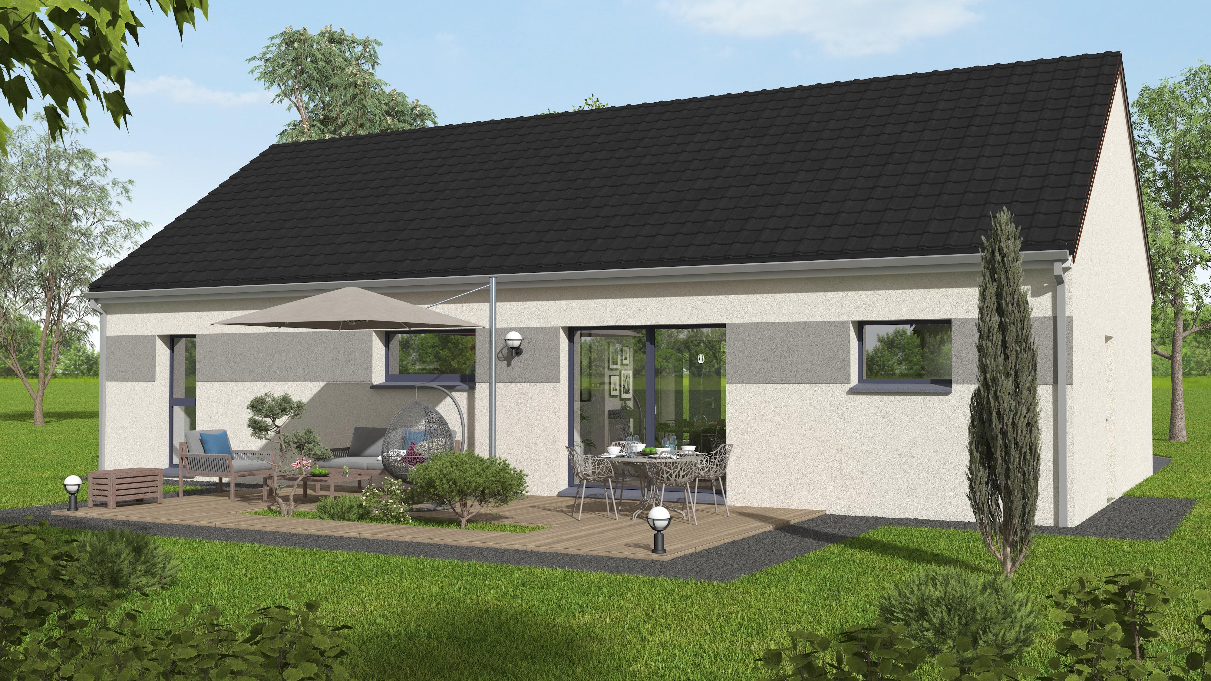 Maison plain pied Creuse Corrèze