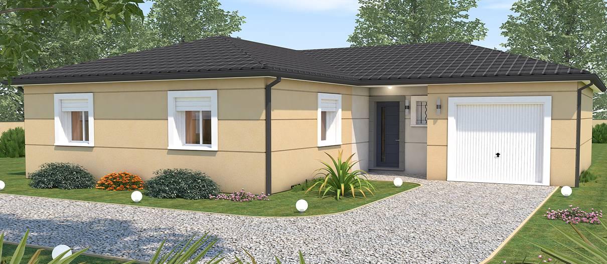 great modle maison sequoia with modele maison a construire. Black Bedroom Furniture Sets. Home Design Ideas